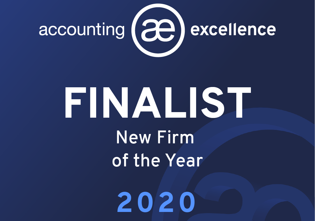 We've Been Nominated for an Accounting Excellence Award